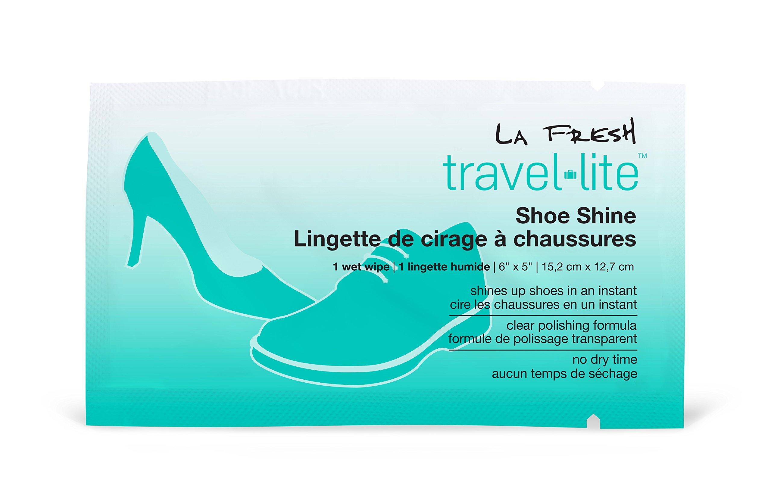 Toallitas para lustrar zapatos individualmente La Fresh Trav