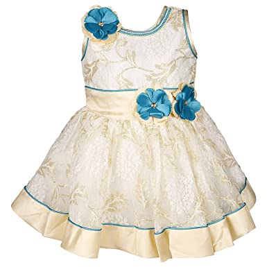 586093df4 Wish Karo Baby Girls Net Party Wear Frock Dress - (bxa16)  Amazon.in ...