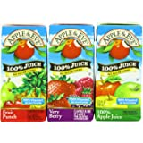 Apple & Eve 100% Juice Variety Pack, 18 Count, 6.75 Oz Boxes