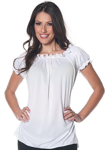Amazon Com Women S Gypsy Blouse Costume Clothing