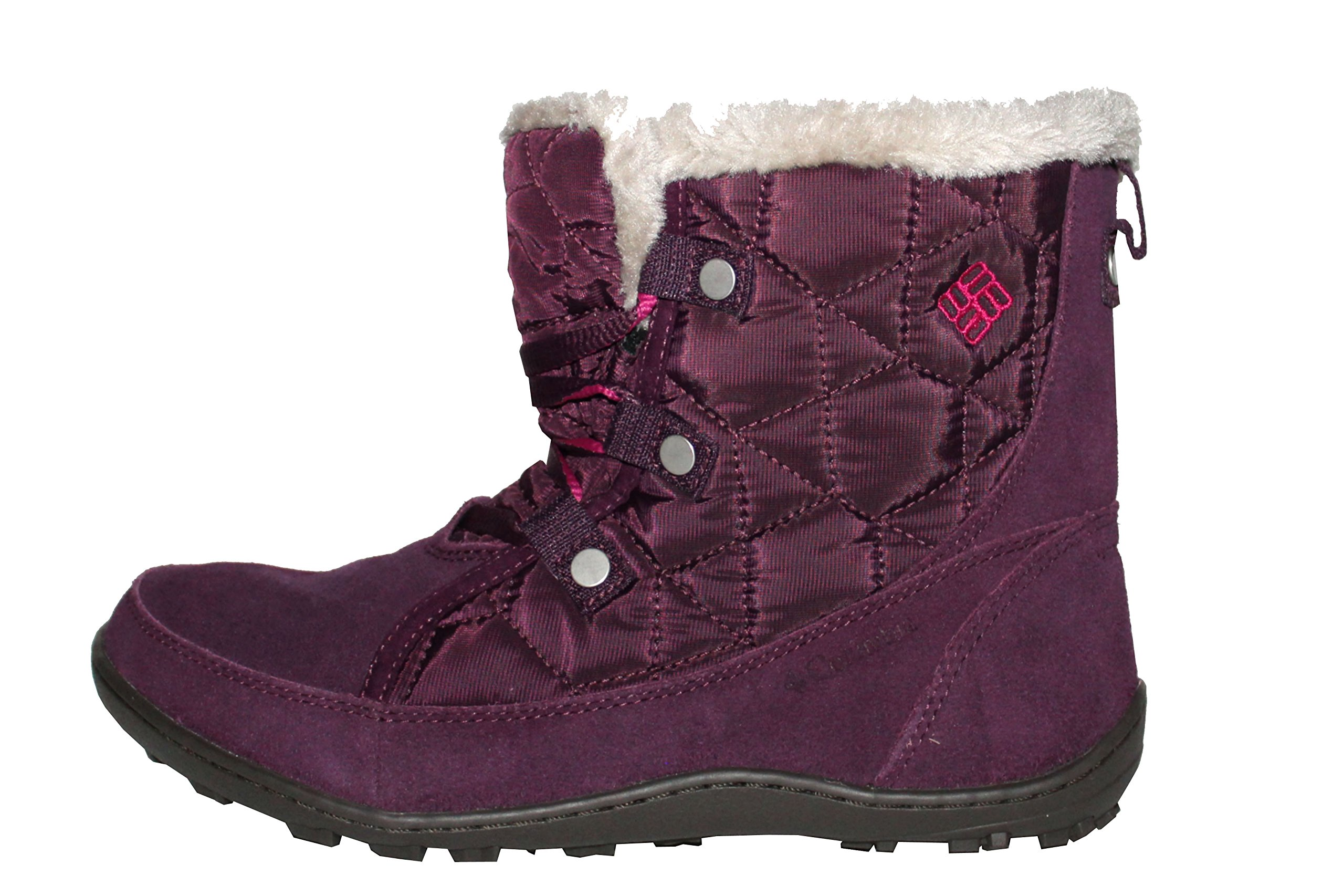 Columbia Women's Powder Summit Shorty Waterproof Boots Insulated Shoes (8) by Columbia