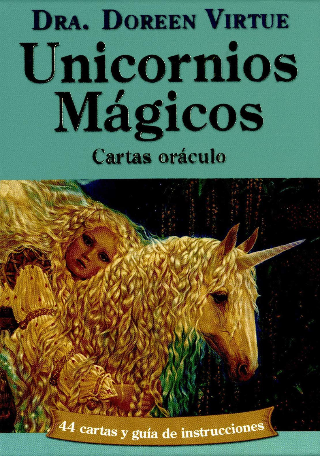 Unicornios mágicos: Cartas oráculo: Amazon.es: Doreen Virtue ...