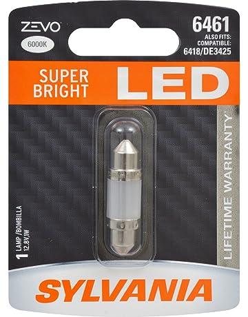 SYLVANIA - 6461 36mm ZEVO LED Festoon White Bulb - Bright LED Bulb, Ideal for