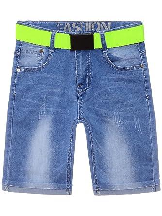 Sonstige Kinder Jungen Hose Bermuda Jeans Kurze Hosen Größe 98 Mit Gürtel Kindermode, Schuhe & Access.
