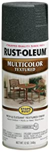 Rust-Oleum 223525 Multi-Color Textured Spray Paint, 12 oz, Aged Iron