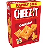 Cheez-It Original Baked Snack Cheese Crackers, Family Size, 21 Ounce Box (Pack of 3)