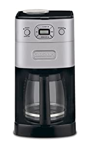Cuisinart DGB-625BC 12-Cup Automatic Coffeemaker