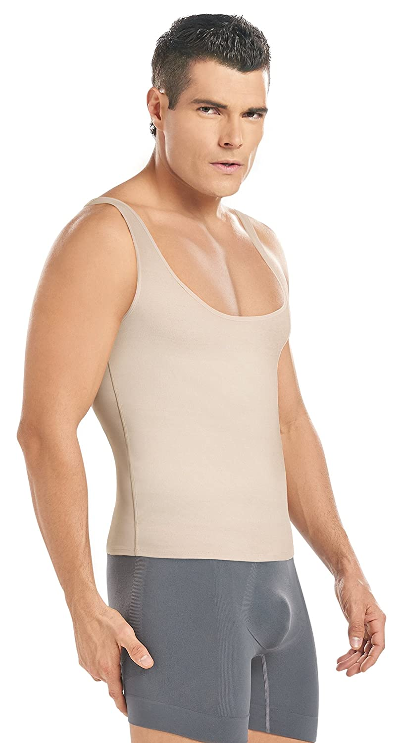 Waist Cincher MAN THERMAL TANK TOP MOLDS /& REDUCE THE ABDOMINAL AREA SHAPEWEAR ShapEager Collections 21351338-bea-nwn-R