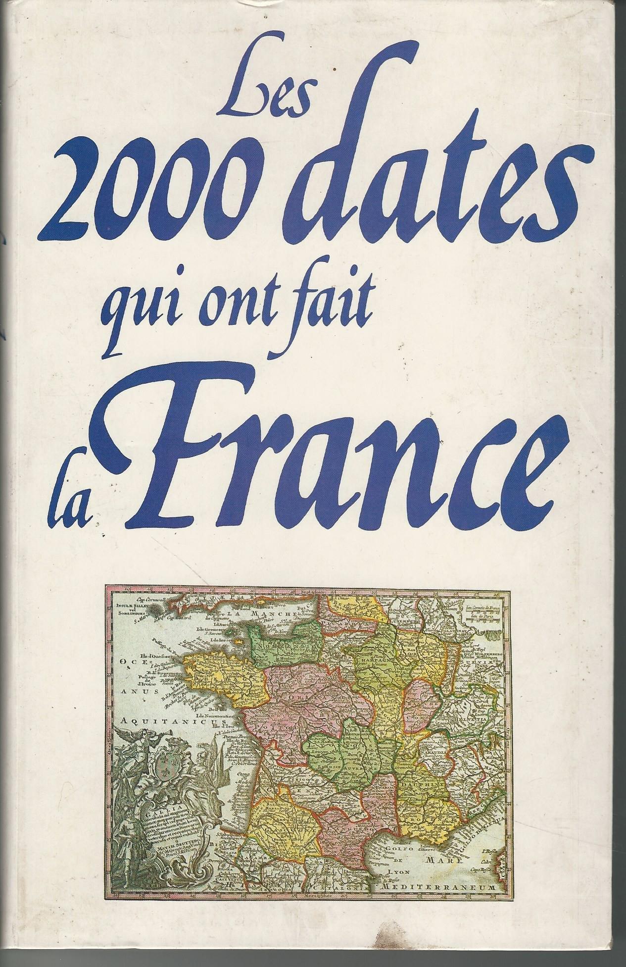 Map France 987.Les 2000 Dates Qui Ont Fait La France 987 1987 Amazon Com Books