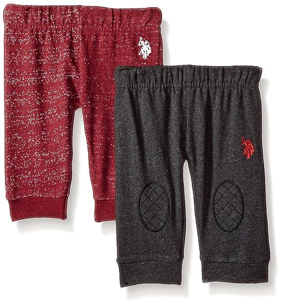 Amazon.com: U.S. Polo Assn. 2 pantalones de forro polar para ...
