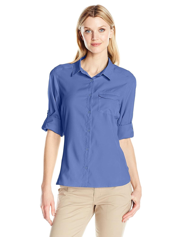 Columbia Camisa de mangas largas East Ridge Ii para mujer, Bluebell, medio: Amazon.es: Deportes y aire libre