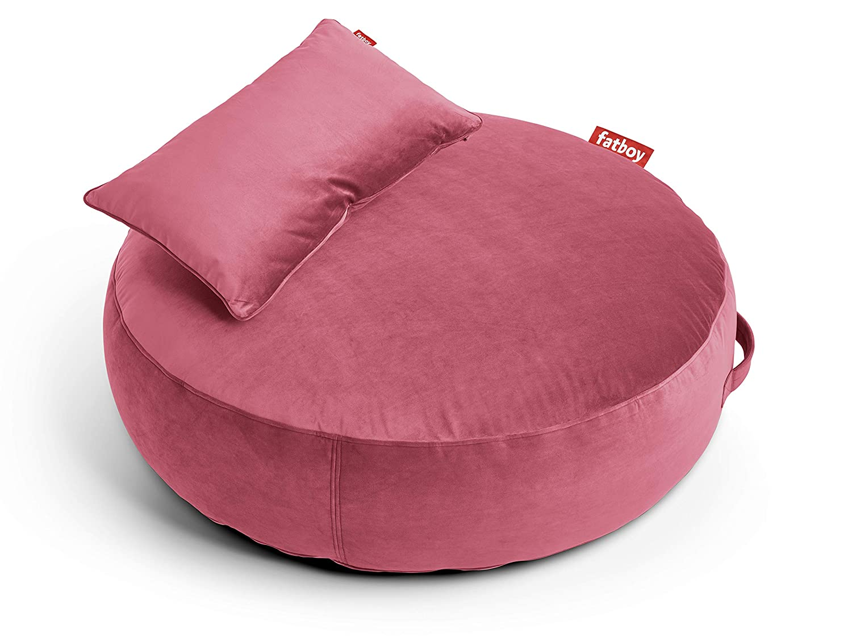Amazon Com Fatboy Pupillow Velvet Indoor Bean Bag Pouf Ottoman