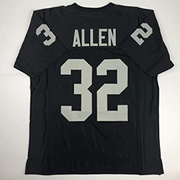 Unsigned Marcus Allen Oakland Black Custom Stitched Football Jersey Size  Men s XL New No Brands  96d9a8f44