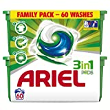 Ariel 3-in-1 Pods Regular Washing Tablets, 60 Washes