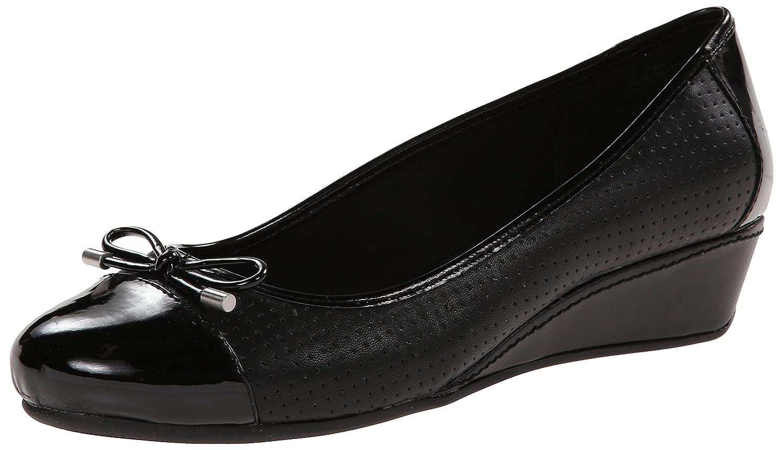 Easy Spirit Women's Dawnette Wedge Sandal B00S8PZRKM 7.5 B(M) US|Black