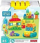 Ônibus Escolar 123 Mega Bloks, Mattel, Amarelo
