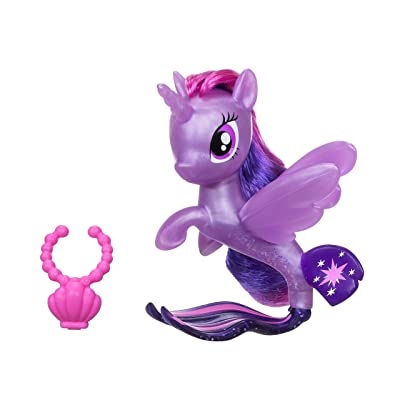 My Little Pony The Movie Twilight Sparkle Seapony: Toys & Games
