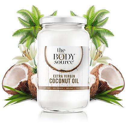 Aceite de Coco Virgen Extra de 1 Litro - Crudo y Prensado en Frío - 100% Orgánico y Puro - Con Certificación orgánica: Amazon.es: Alimentación y bebidas