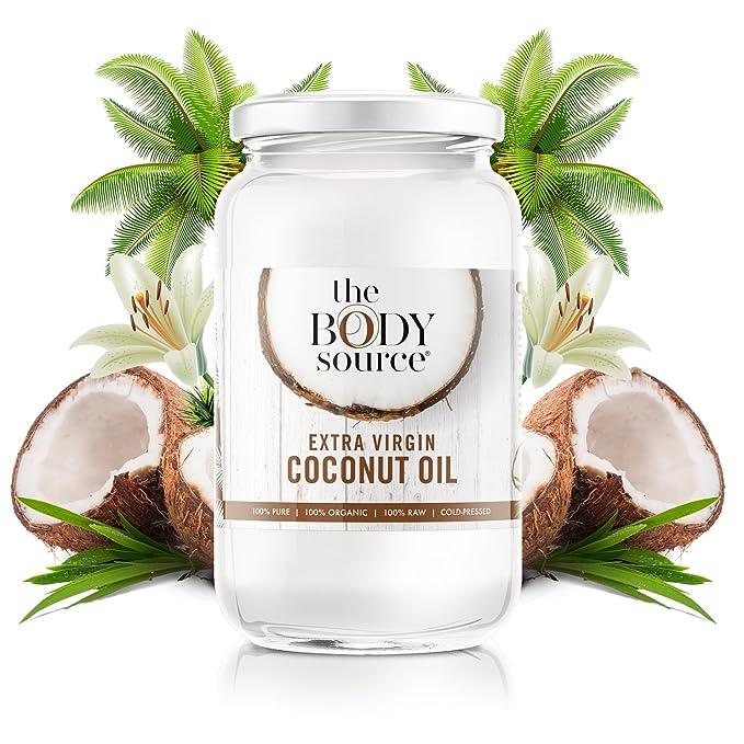 Aceite de Coco Extra Virgen 1 Litro - 100% Natural y Orgánico (certificada): Amazon.es: Alimentación y bebidas