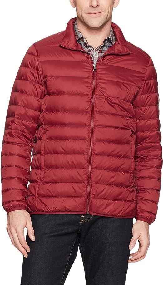 Amazon Essentials Lightweight Water-Resistant Packable Down Jacket (Men's)