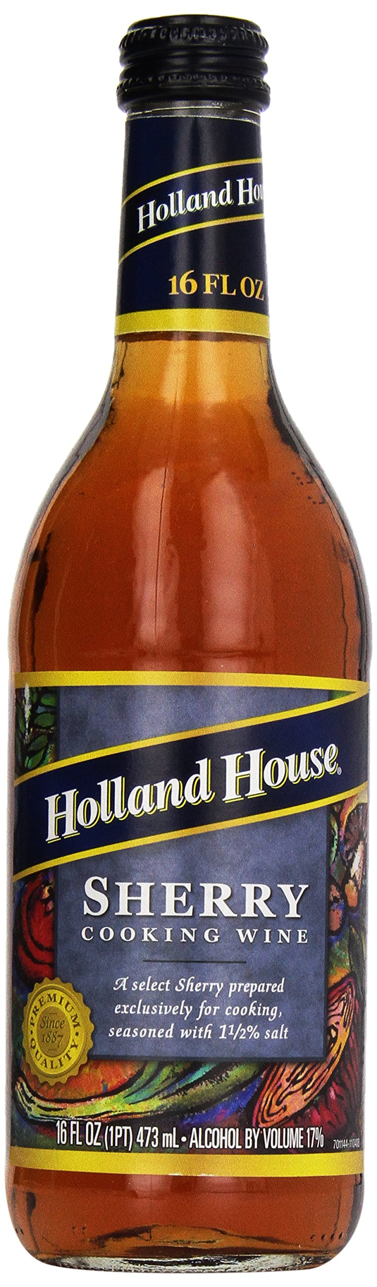 Holland House Cooking Wine, Sherry, 16 Ounce
