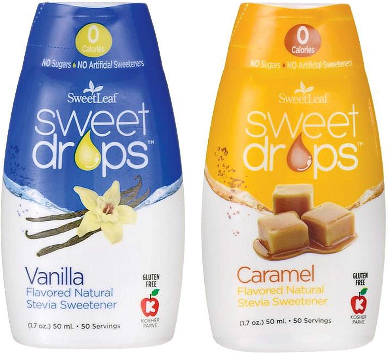 Sweetleaf Sweet Drops Vanilla and Caramel Bundle