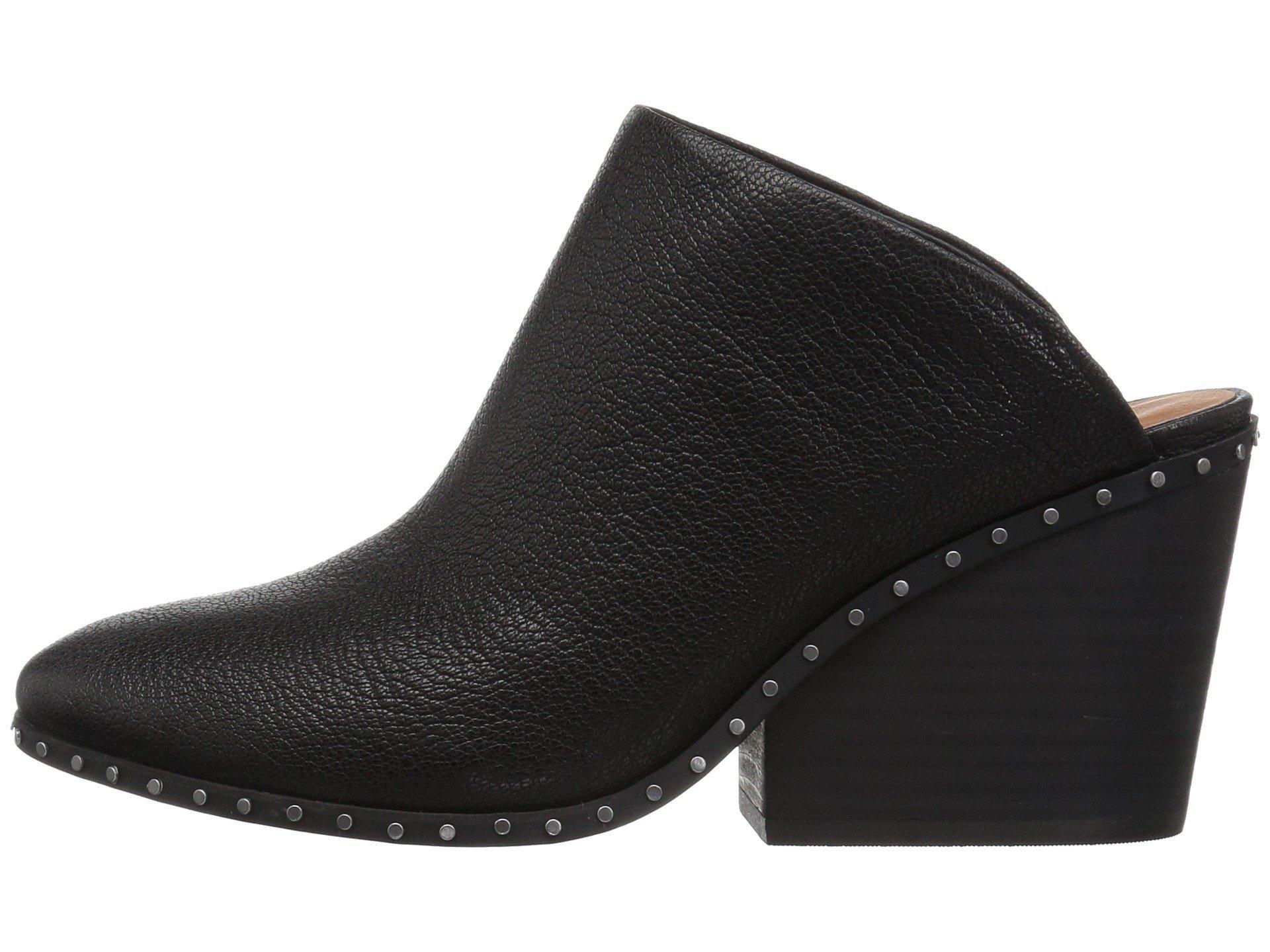 Lucky Brand Women's LARSSON2 Clog, Black, 7.5 Medium US