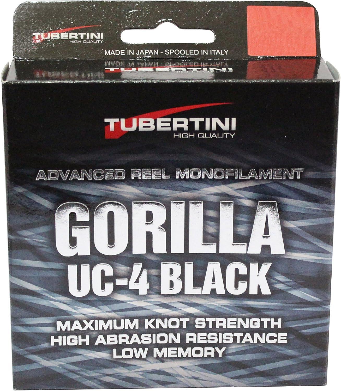 Tubertini FTM Gorilla Schnur UC4 Black 2000m Verschiedene Größen