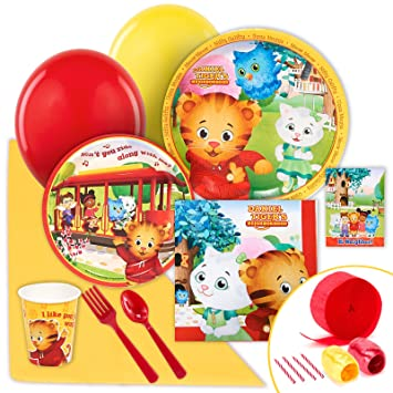 Daniel Tiger Party Supplies Value Party Pack Party Packs Amazon