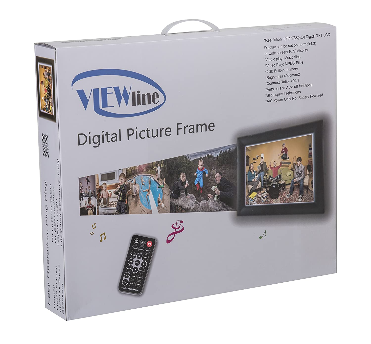Perfect Battery Powered Digital Photo Frame Composition - Picture ...