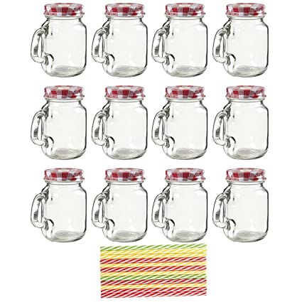 Amazon 40Pack Mason Jars Clear Mini Mason Jar Set With Adorable Decorative Lids For Canning Jars