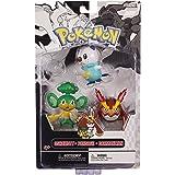 Jakks Pacific - Pack Figurines - Pokémon Oshawott - Pansage - Darmanitan - 0039897279947