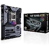 ASUS TUF X299 Mark 1 LGA2066 DDR4 M.2 USB 3.1 Dual LAN X299 ATX Motherboard for Intel Core X-Series Processors
