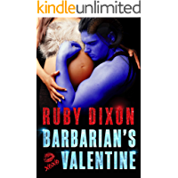 Barbarian's Valentine: A Slice of Life Novella (Ice Planet Barbarians Book 19)