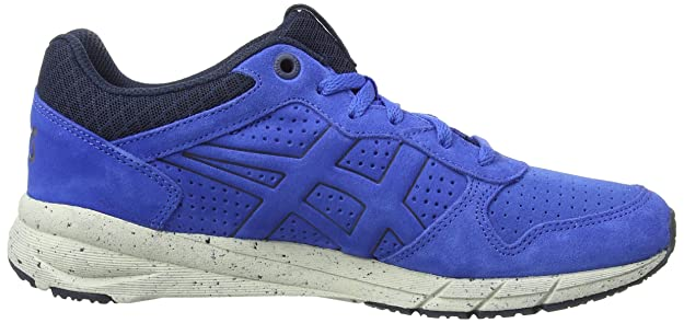Onistuka Tiger Shaw Runner, Chaussures Multisport Outdoor Mixte Adulte - Bleu (Navy/White 5001) - EU 46 (Taille Fabricant : UK 10.5)