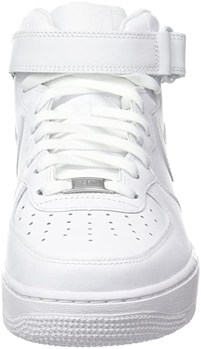 best service d61f4 987f3 Amazon.com   Nike Men s Air Force 1 Mid 07 Trainers   Basketball