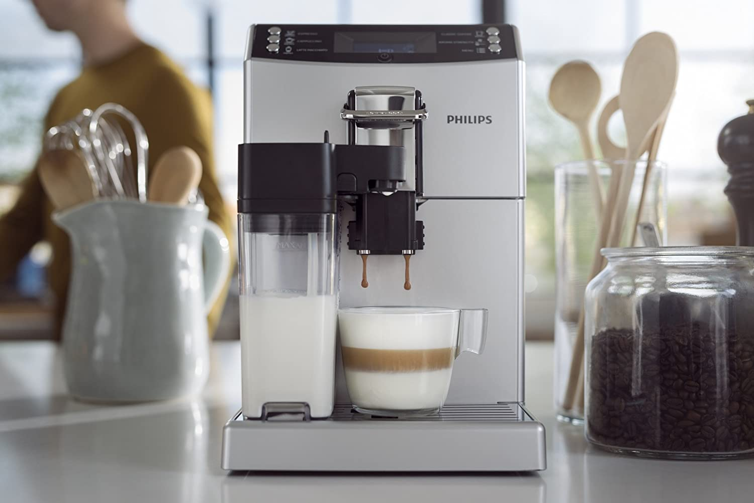 Philips 4000 series EP4050/10 - Cafetera (1,8 L, 7,2 g): Amazon.es: Hogar