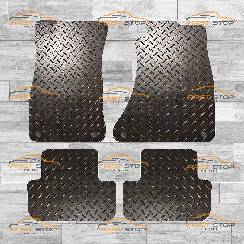 FSW A5 Sportback Fully Tailored 3MM Rubber Heavy Duty Car Floor Mats