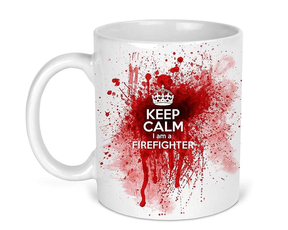 Fire Hose Firetruck Funny Firefighter Coffee Mug First Responder Fireman EMT