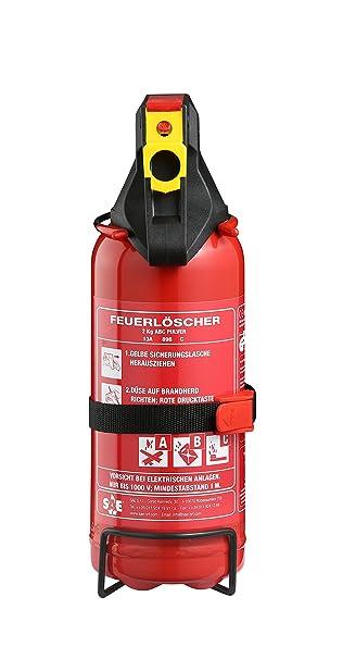Auto Feuerlöscher Pulver 2KG: Amazon.de: Baumarkt