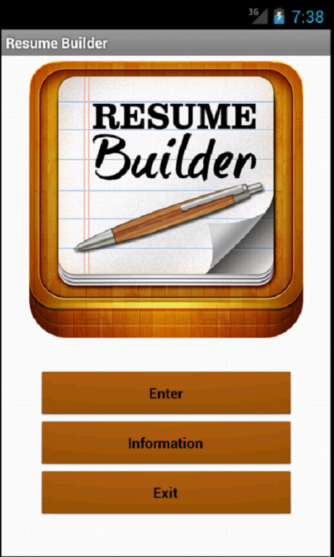 resume builder hd appstore for android