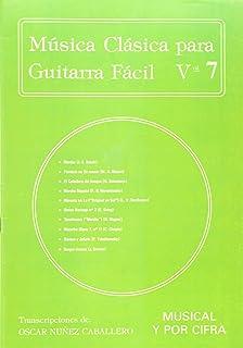 Música Clásica para Guitarra Fácil, Volumen 7
