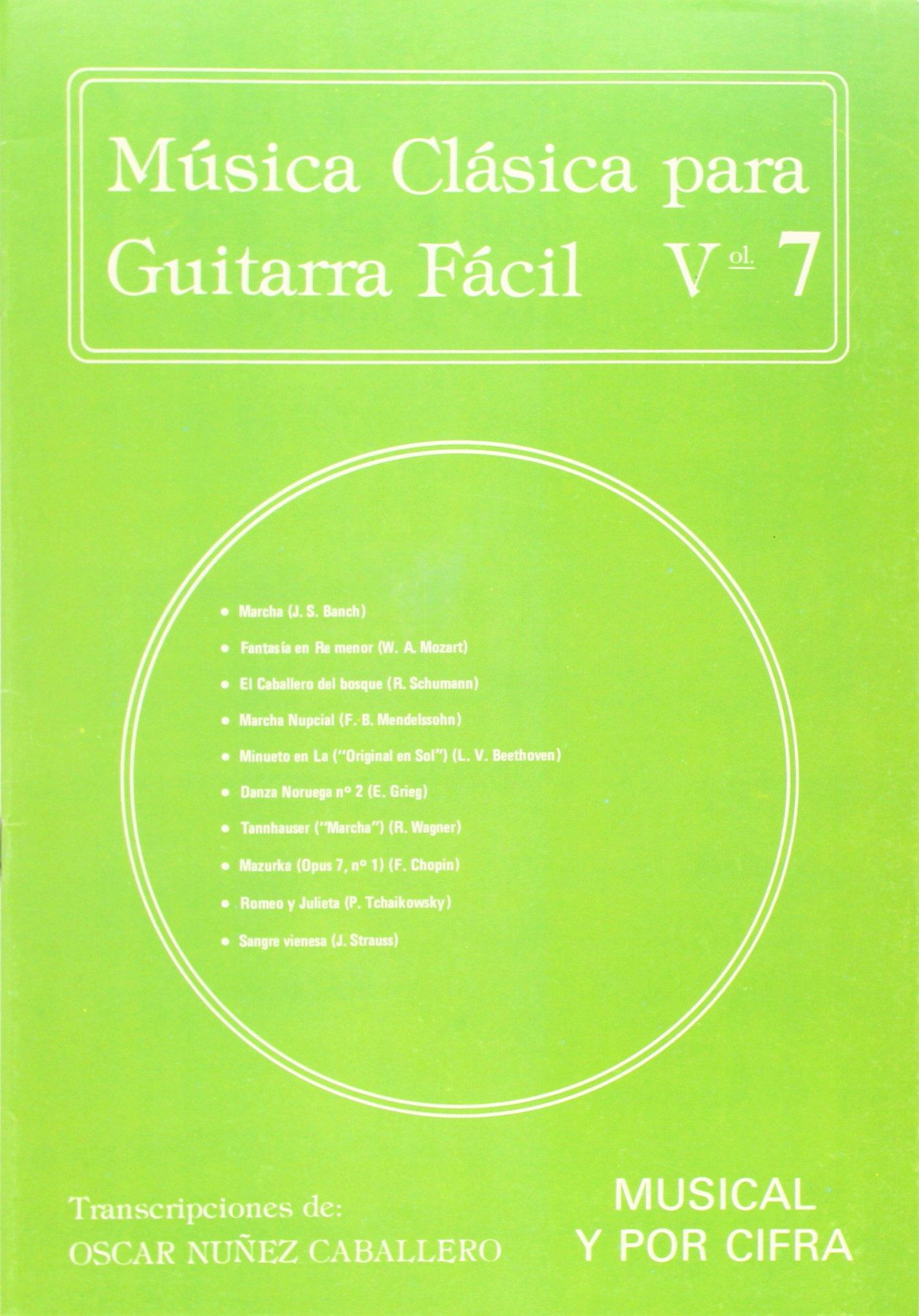 Música Clásica para Guitarra Fácil, Volumen 7: Amazon.es: Aa.Vv ...