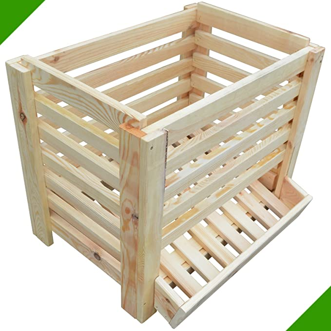 Patatas Caja fruta (Alimentos Caja Caja de madera caja de madera ...