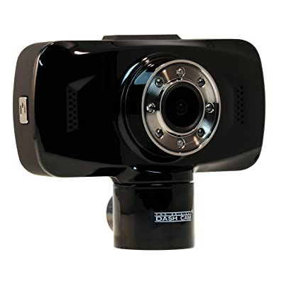 The Original Dash Cam 4SK909 Twister Dual lens 1080P Wide Angle Dashboard Camera Recorder Car Dash Cam with G-Sensor, WDR, Loop Recording: Automotive