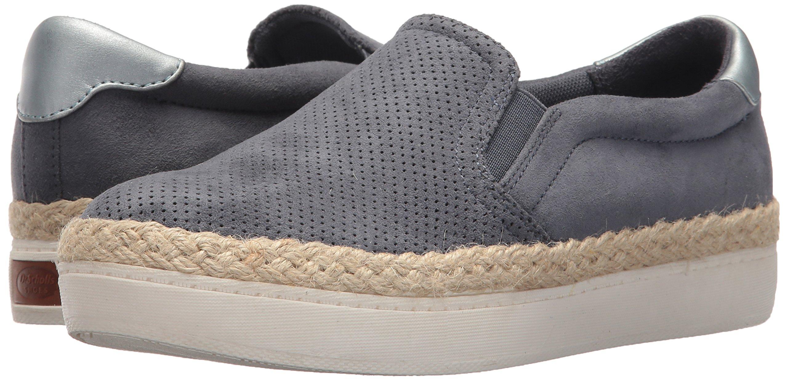 414dd3276fd3d Dr. Scholl's Women's Madi Jute Sneaker Oxide Microfiber Perf 8 M