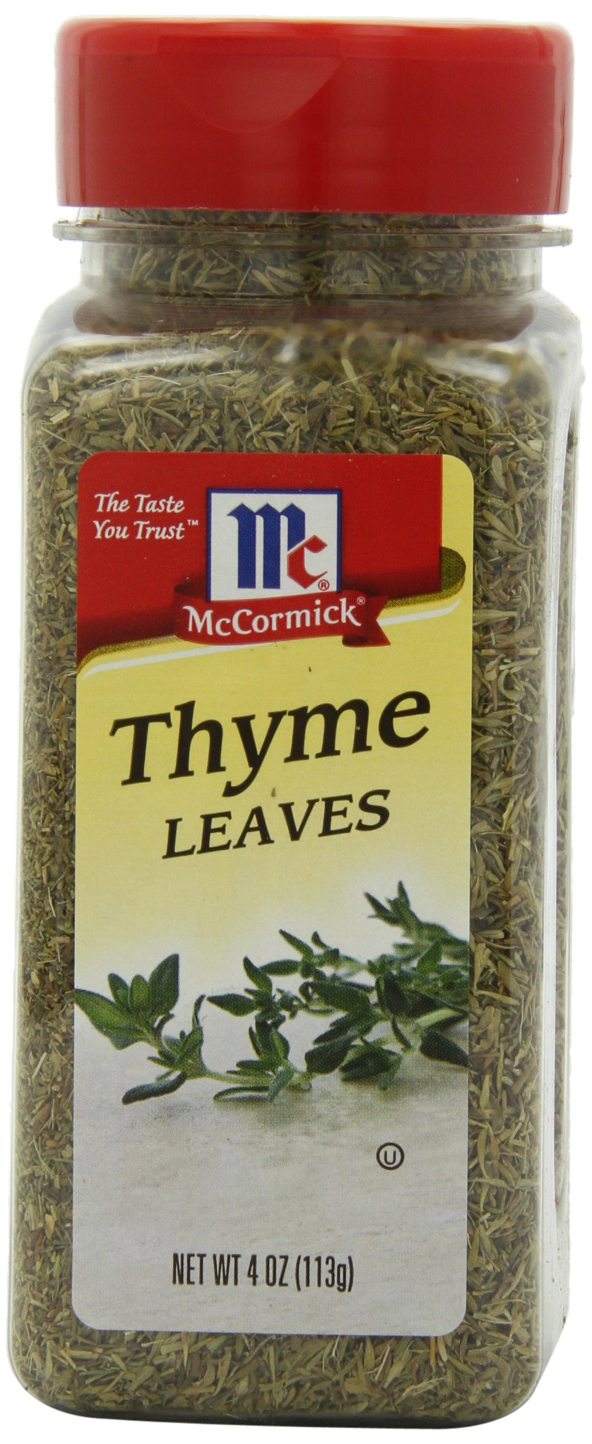McCormick Thyme Leaves, 4 oz (Case of 12) by McCormick