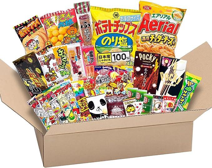 Japonés valioso partido Snack BOX popular conjunto Dagashi Japón ...