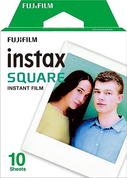 Fuijifilm Instax Share SP-3  Drucker Filmeset schwarz Square WW 1 Film Square Frame WW1 Colorfilm wei/ß