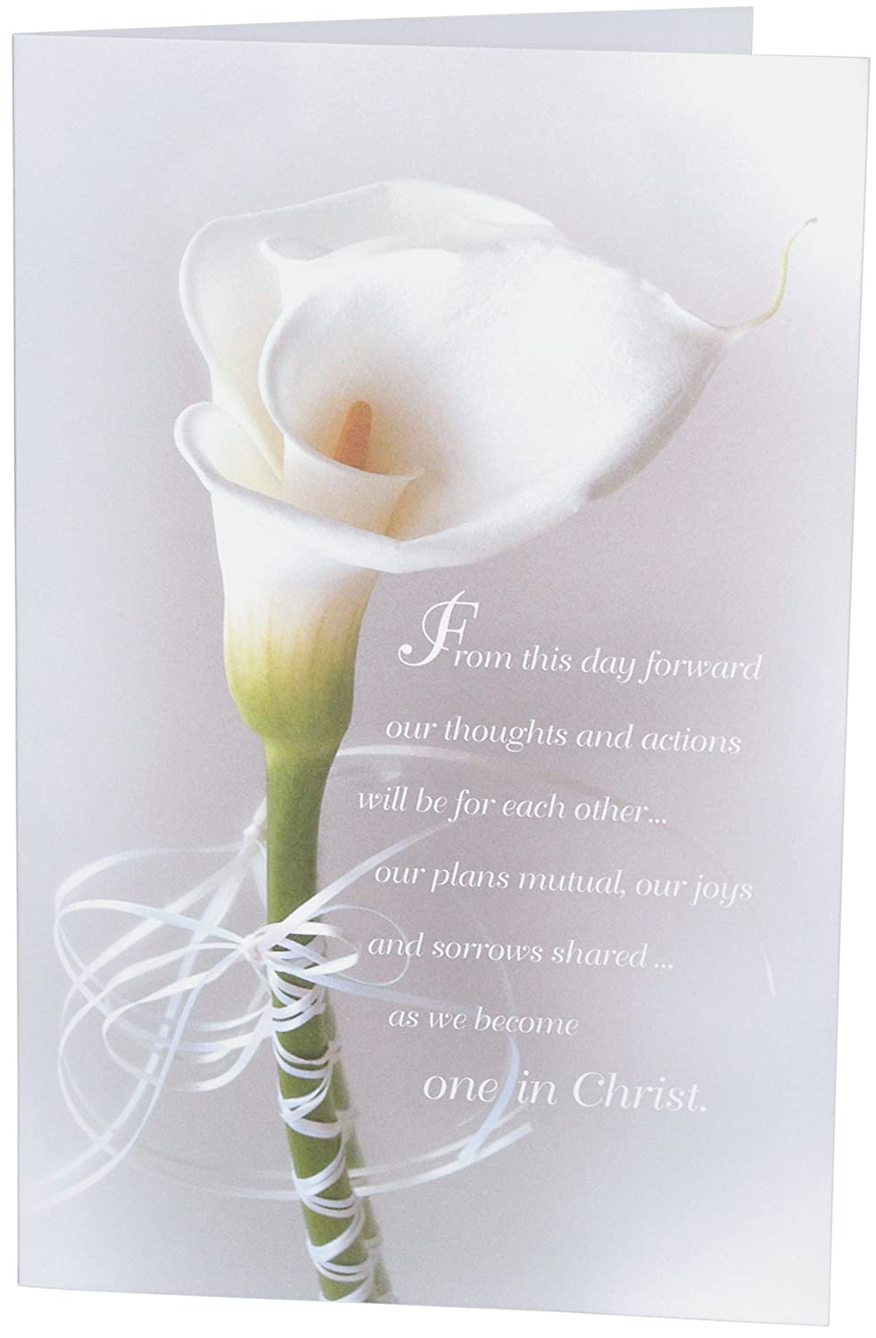 Amazon Calla Lily Create Your Own Wedding Programs 100 Paper